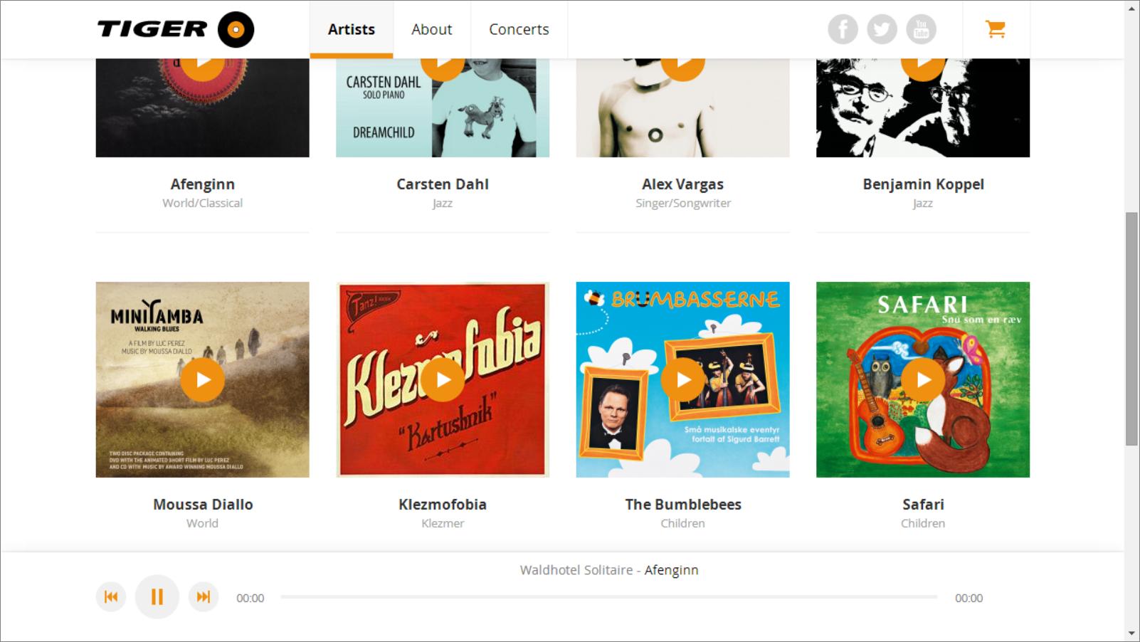 tiger-web-music-selection