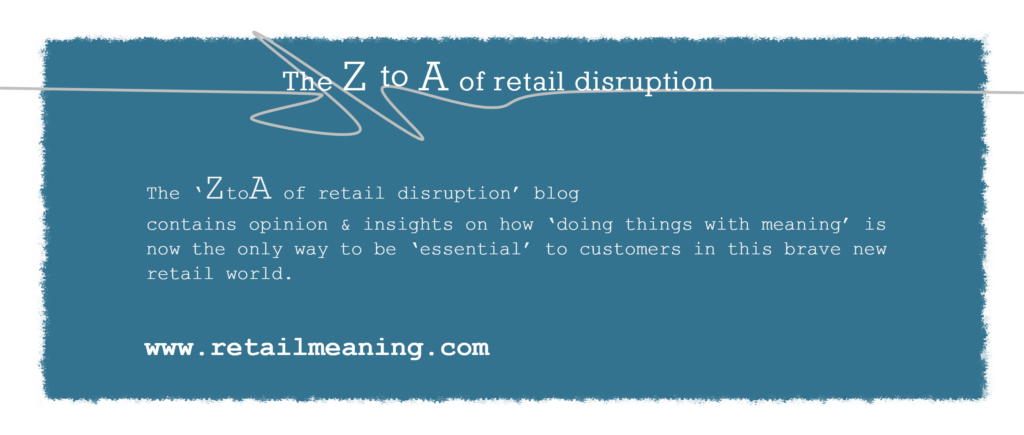 tim Radley The ZtoA of Retail Disruption
